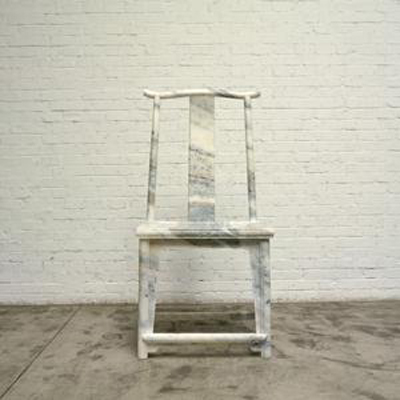 Ai weiwei marble chair