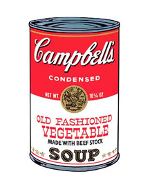 Andy Warhol Campbell soup