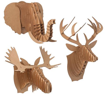 cardboard trophies