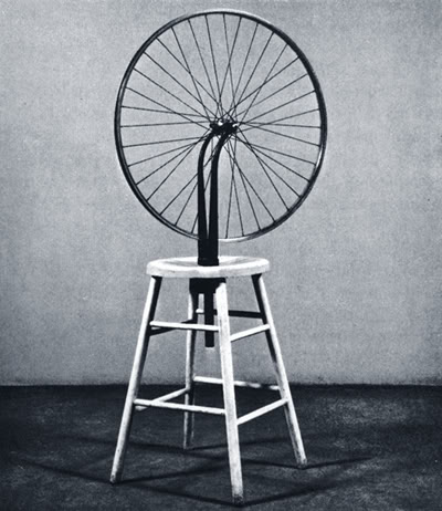 Marcel duchamp - bicycle wheel
