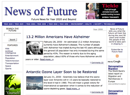 News of the Future